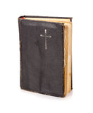 Hardcover prayer book on white Royalty Free Stock Photography
