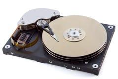 Harddisk 18 stock images