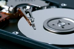Harddisk drive Royalty Free Stock Images