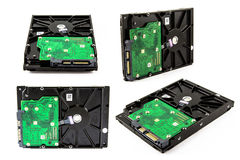Harddisk drive, close up image of device Royalty Free Stock Photo