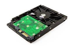 Harddisk drive, close up image of device Royalty Free Stock Image