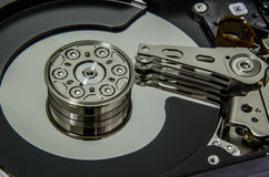 Harddisk inside Royalty Free Stock Images