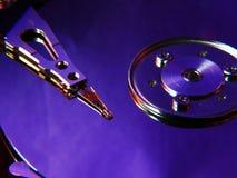Harddisk violet Stock Images