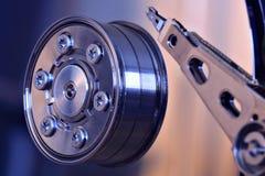 Harddiskcloseup Arkivbild