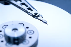 harddrive的计算机 图库摄影