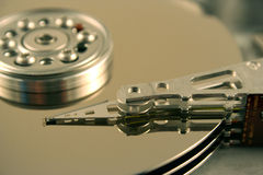 harddrive的计算机 库存照片