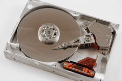harddrive的计算机 免版税图库摄影