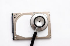 Hard drive health check Stock Image