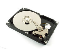 Harddrive no write background. Background Harddrive write computer desktop Royalty Free Stock Photo