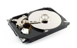 Harddrive no write background Stock Photos