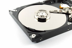 Harddrive no write background Stock Photography