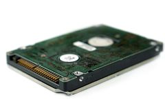 Harde aandrijving voor laptop royalty-vrije stock afbeelding