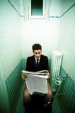 Harde arbeider Stock Foto