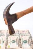 Harde munt: de dollar. Royalty-vrije Stock Foto