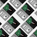 Harde schijfpatroon HDD-patroon Royalty-vrije Stock Fotografie