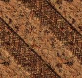 Harde sporen in vuilmodder Royalty-vrije Stock Fotografie