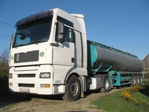 Harde vrachtwagen Stock Foto's