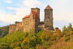 κάστρο της Αυστρίας hardegg χαμ&e Στοκ Εικόνες