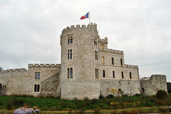 Hardelot castle Stock Photo