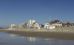 Hardelot Plage in Nord Pas de Calais Royalty Free Stock Images