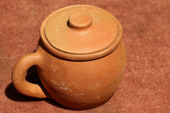 Harden clay pot showing for sale Stock Photos