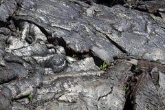 Harden lava flow Stock Photo