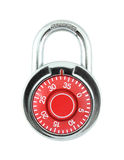 Hardened steel padlock Royalty Free Stock Photography
