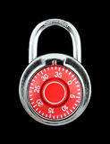 Hardened steel padlock Royalty Free Stock Photo