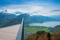 Harder Kulm. Top of Europe. Stock Photo