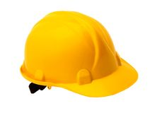 Hardhat. This is a White Background Hardhat Royalty Free Stock Photos