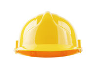 Hardhat isolated with clipping path Royalty Free Stock Photography