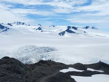 Harding Icefield, Αλάσκα Στοκ φωτογραφία με δικαίωμα ελεύθερης χρήσης