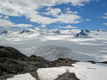 Harding Icefield Kenai Αλάσκα Στοκ εικόνες με δικαίωμα ελεύθερης χρήσης