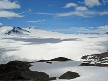 Harding Icefield Kenai Alaska Royalty Free Stock Photo
