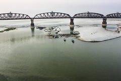 Hardinge-Brücke stockfoto