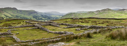 Hardknott Fort Royalty Free Stock Photography