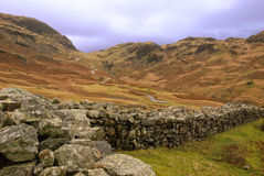 Hardknott Pass Royalty Free Stock Images