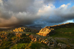 Hardknott Roman Fort, Cumbrian Stock Images