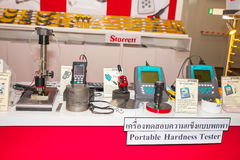 Hardness Testers. BANGKOK ,THAILAND - MAY 17: Pocket Hardness Testers  Equipment in Stock Images