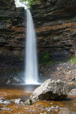 Hardraw force waterfall in Leyburn, North Yorkshire. Royalty Free Stock Photography