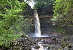 Hardraw Force, Yorkshire Stock Photo