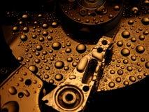 Hardrive abstracto Foto de archivo