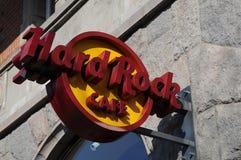 Hardrock kawiarnia Zdjęcia Royalty Free