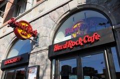 Hardrock kawiarnia Zdjęcia Stock
