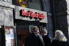 Hardrock kawiarnia Zdjęcie Royalty Free