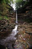 Hardrow. Autumn at Hardrow force -Yorkshire Royalty Free Stock Image