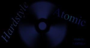 Hardstyle Atomic Stock Image