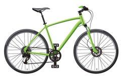 Hardtail-Mountainbike Lizenzfreies Stockbild