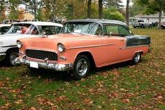 hardtop 1955 бела aire chevy Стоковое Фото