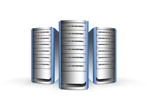 Hardware. Storage hardware concept ,abstract server Royalty Free Stock Photos
